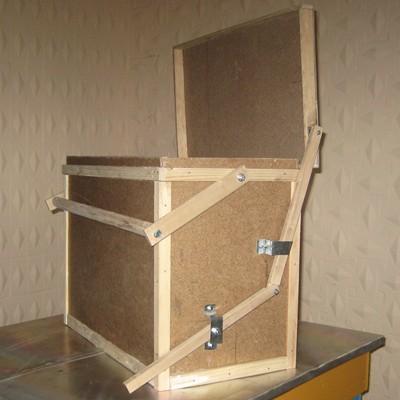 Ящик для переноски рамок с педалью