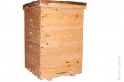 Улей 10-и рамочный ( 1 гнездовой корпус, 2 магазинных)